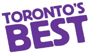 Photo: 'eye' magazine's 'Toronto's Best' 2004 logo.