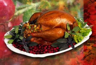Photo: Thanksgiving turkey.
