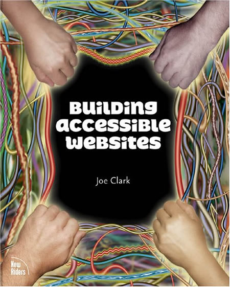 Photo: Cover of 'Building Accessible Websites'.
