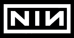 Graphic: Nine Inch Nails 'NIN' logo.