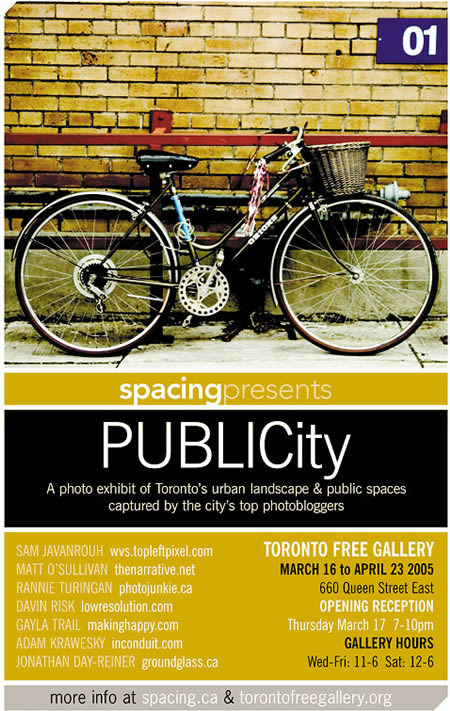 Graphic: Poster for PUBLICity.