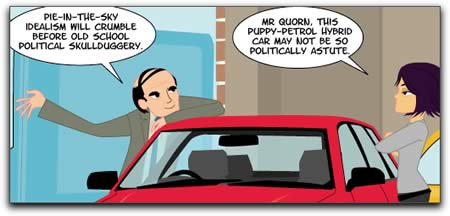 Comic: Panel from 'Scary Go Round', April 13, 2005.