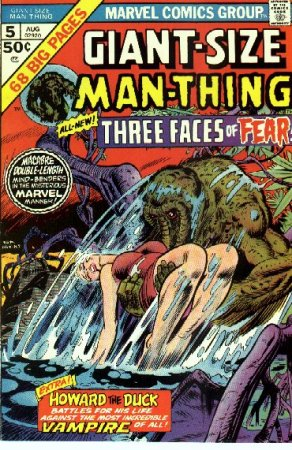 Photo: Comic book cover -- 'Giant-Size Man-Thing'.