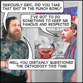 Comic: Panel from 'Everybody Loves Eric Raymond'.