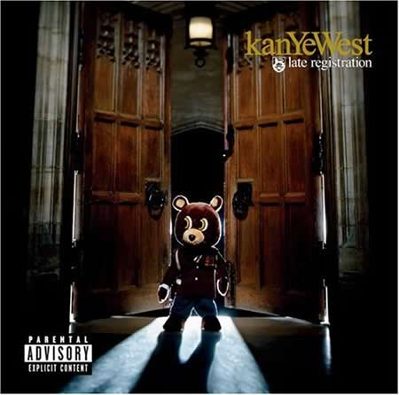Photo: Album cover of Kanye West's 'Late Registration'.